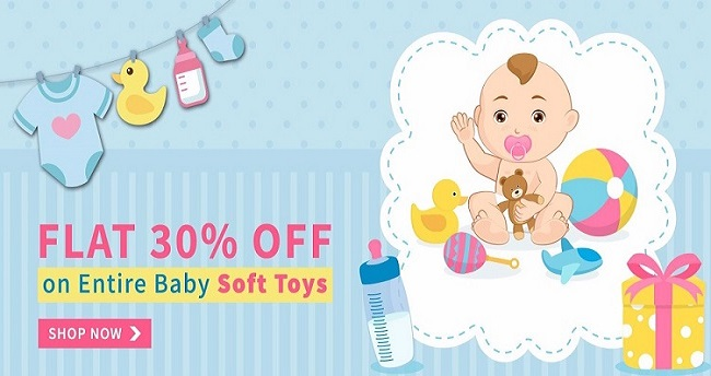 Soft baby toys