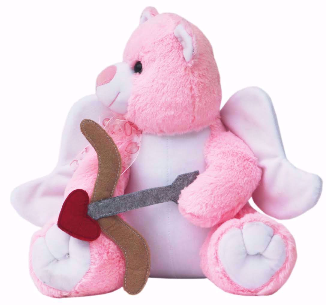 Pink Cupid Teddy with Arrow, Pink teddy bear price online