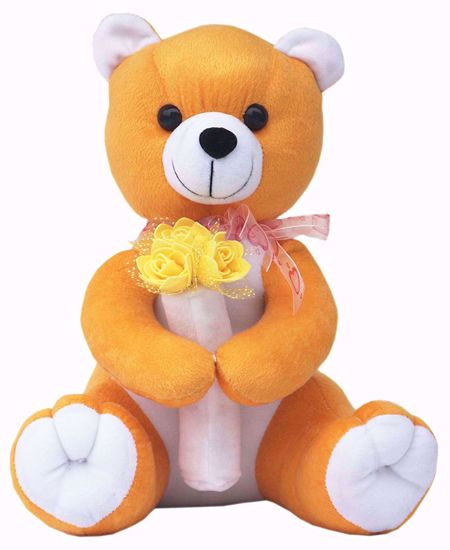 Mustard Teddy with Flowers 30cm,mustard plant online