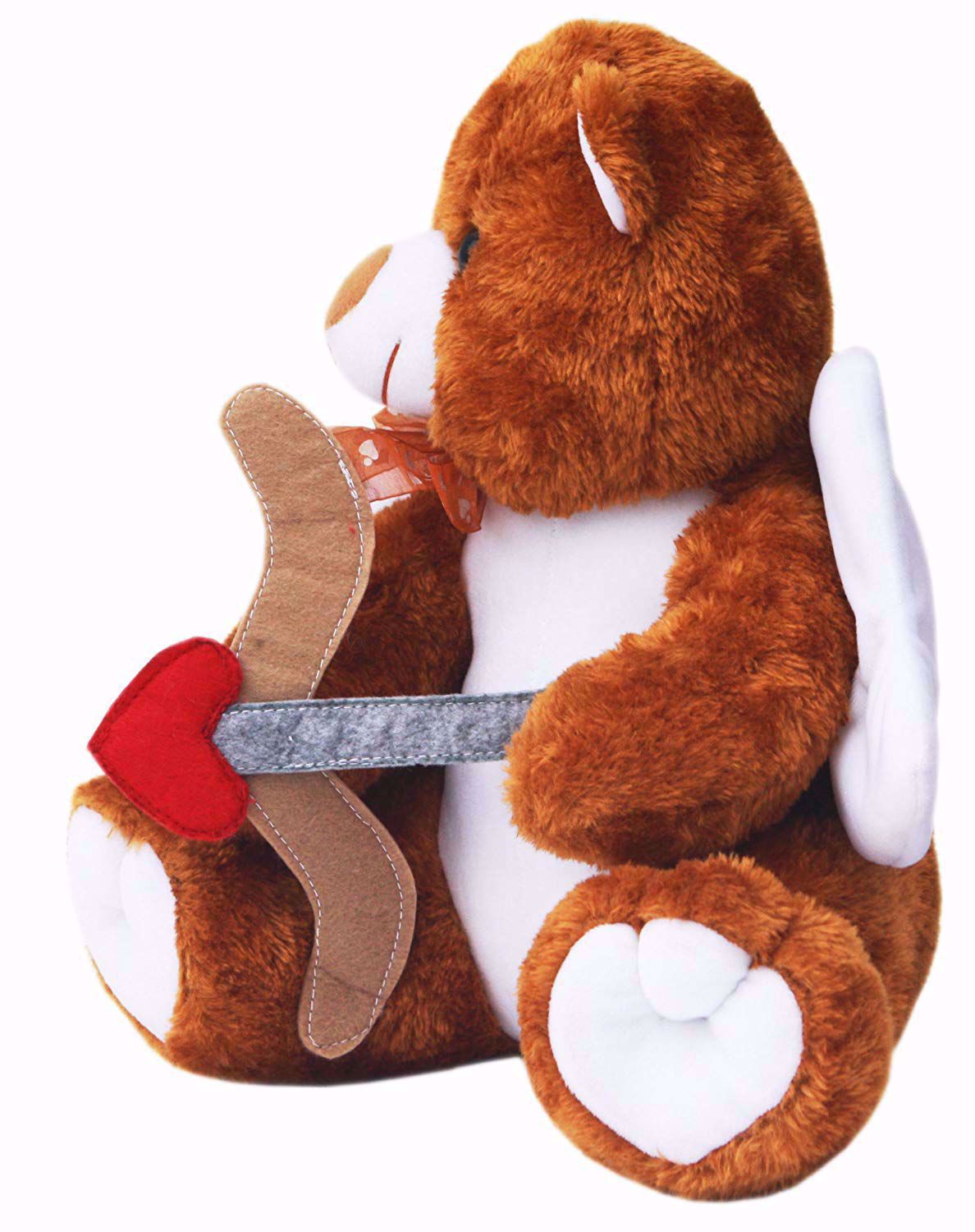 Brown Cupid Teddy with Arrow and Bow 30cm, Brown Cupid Teddy with Arrow and Bow online