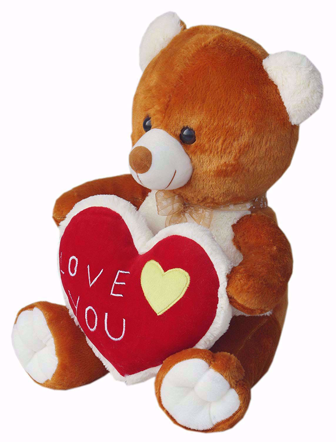 Brown Teddy with I Love You Heart, Brown Teddy with I Love You Heart online