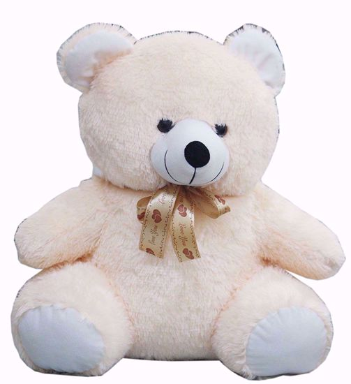 "Teddy with""Love You"" Ribbon 50cms , teddy bear with ribban online"
