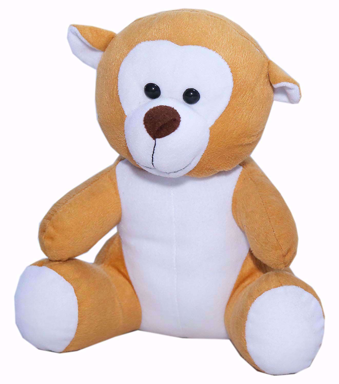 Mustard Monkey 25cms - BJ1101,cute monkey teddy bears online