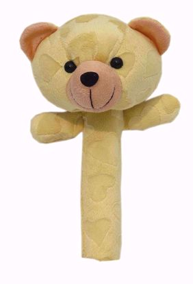 Soft Baby Rattle Teddy Yellow - BJ1112,best rattles onine