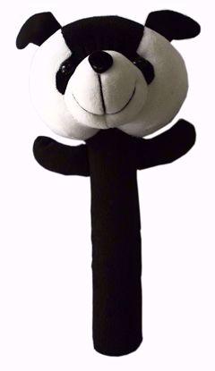 Soft Baby Rattle Black Panda - BJ1126, blak panda rattel online