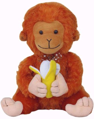 Monkey with banana 30cms BJ1243,monkey and banana online