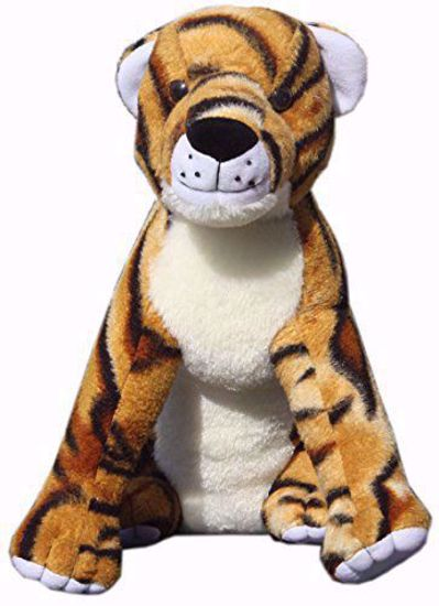 Mustard Tiger Soft Toy 25cms - BJ1108, the Mustard Tiger online
