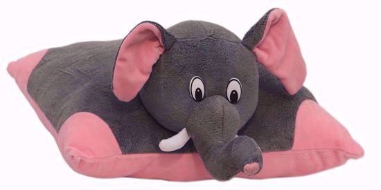 Elephant pillows--Grey,elephant pillow price online-pink 42cm