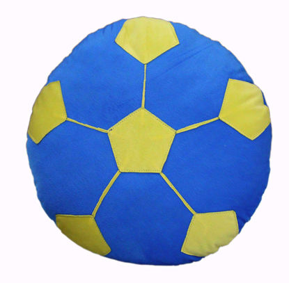 Football pillow-blue-14- inches,best football online