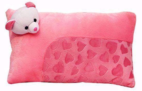 Baby Pillow (Pink)  (bj1117),pink baby pillow