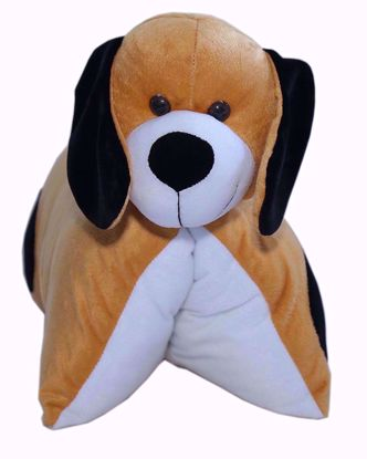 Fun Pillow - Dog (Brown) - bj101,my pillow dog online