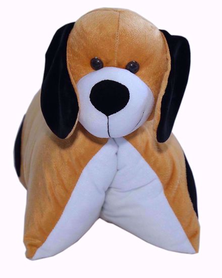 Fun Pillow - Dog (Brown) - bj101,my pillow dog online