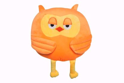 Owl Shape Pillow - orange,owl throw pillow online