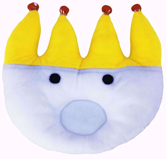 crown  Baby Pillow, White/Yellow, crown baby pillow online