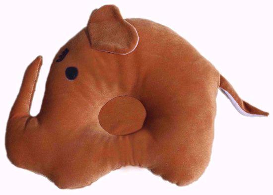 Elephant Baby Pillow, Brown (bj1156),elephant pillow online