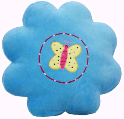 Baby Stuffed Toys Pillow Butterfly Blue,butterfly stuffed  pillow online