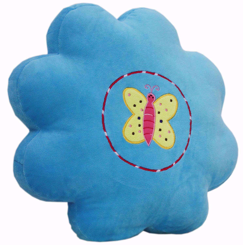 Baby Stuffed Toys Pillow Butterfly Blue,butterfly stuffed pillow online