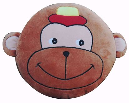 Picture of Baby Pillow Monkey Brown