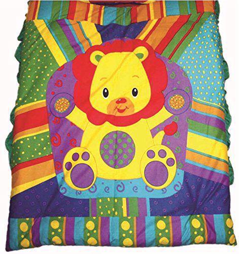 Large Baby Lion Mattress with Quilt (Multicolour) - MT05,baby cot bedding sets sale online