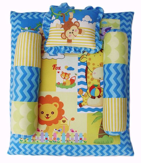 Baby Mattress Animals 0-6 months 76*56cms,baby girl crib bedding online