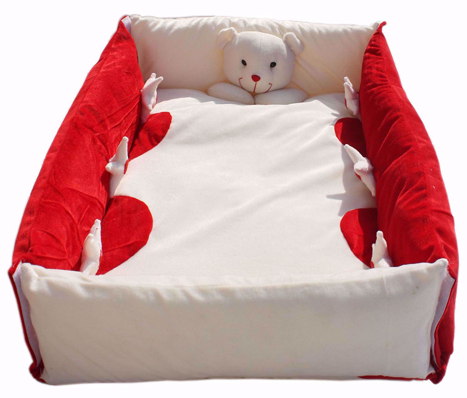 Picture of Baby Play Gym Square-Red With Toys