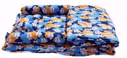 Kids  Mattress with Quilt - Floral (Blue) ,floral mattress online