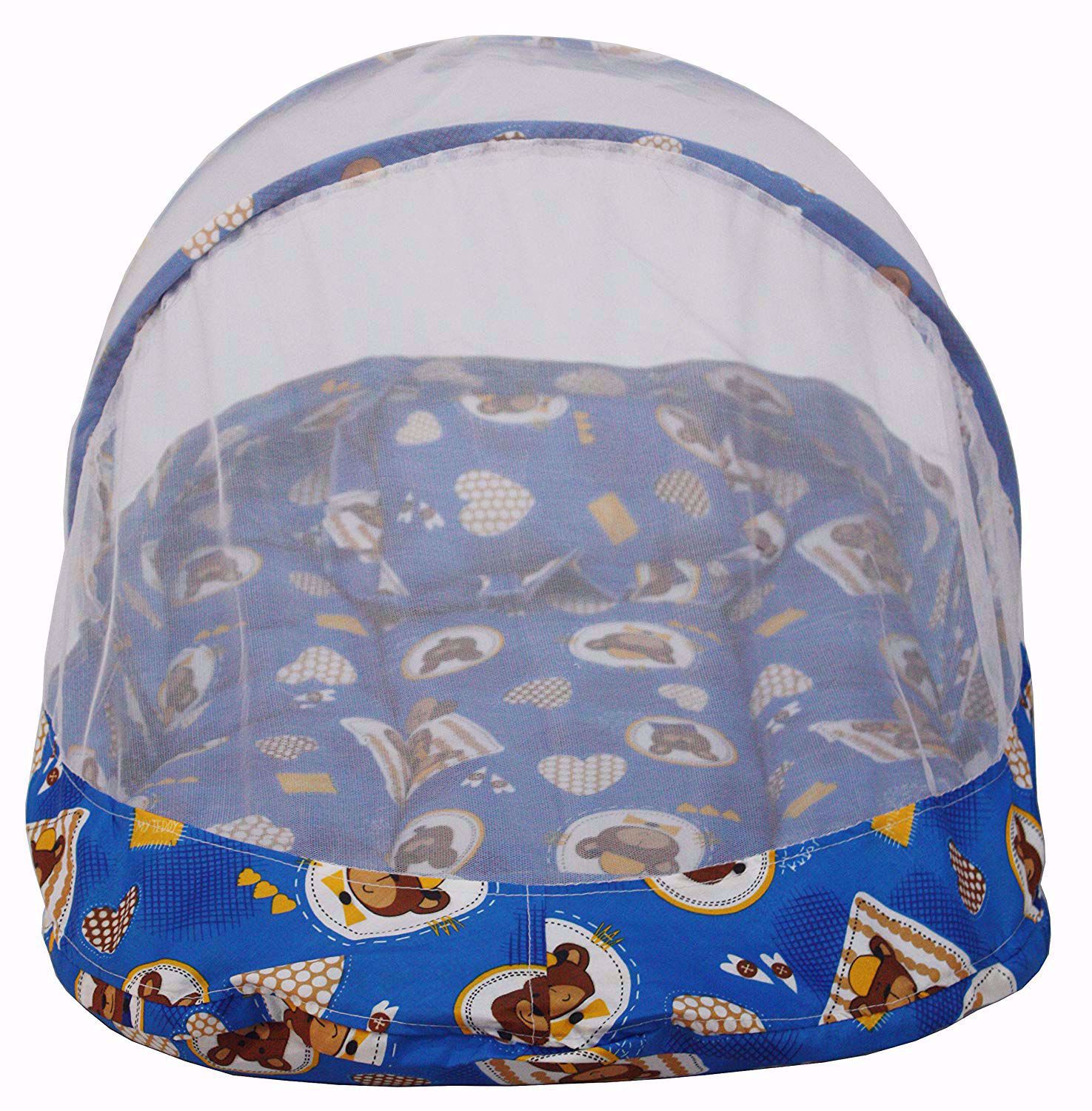 Bear Heart design   with Mosquito Net, Blue Clour,portable mosquito net online