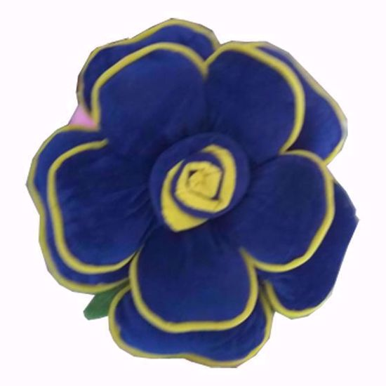 flower -pillow-blue,floral velvet cushions online