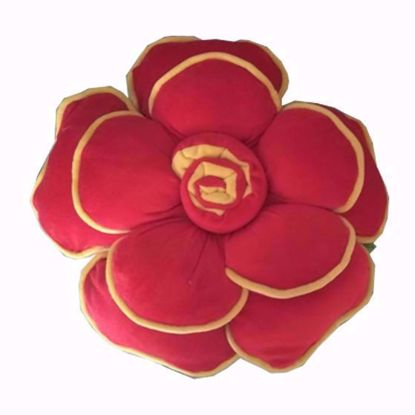 flower-pillow-red,bright floral throw pillows online