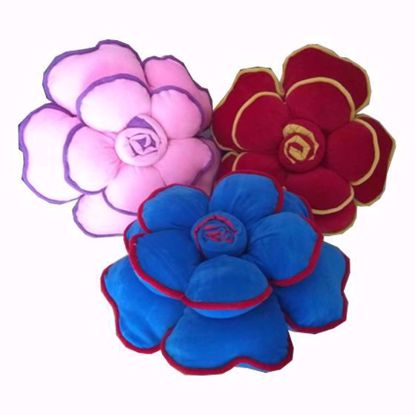 flower-pillow-pink-red-sky blue,rose print cushions online
