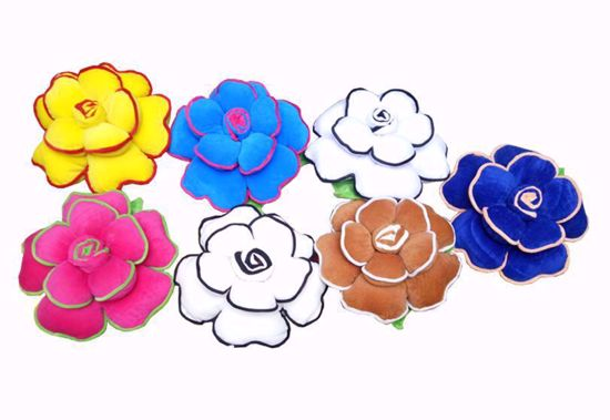 flower-pillow-set -of-7-Multi Color, floral pillows online