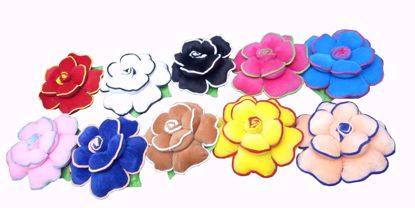 flower- pillow-set-of-10-Multi Color,envogue floral pillows online