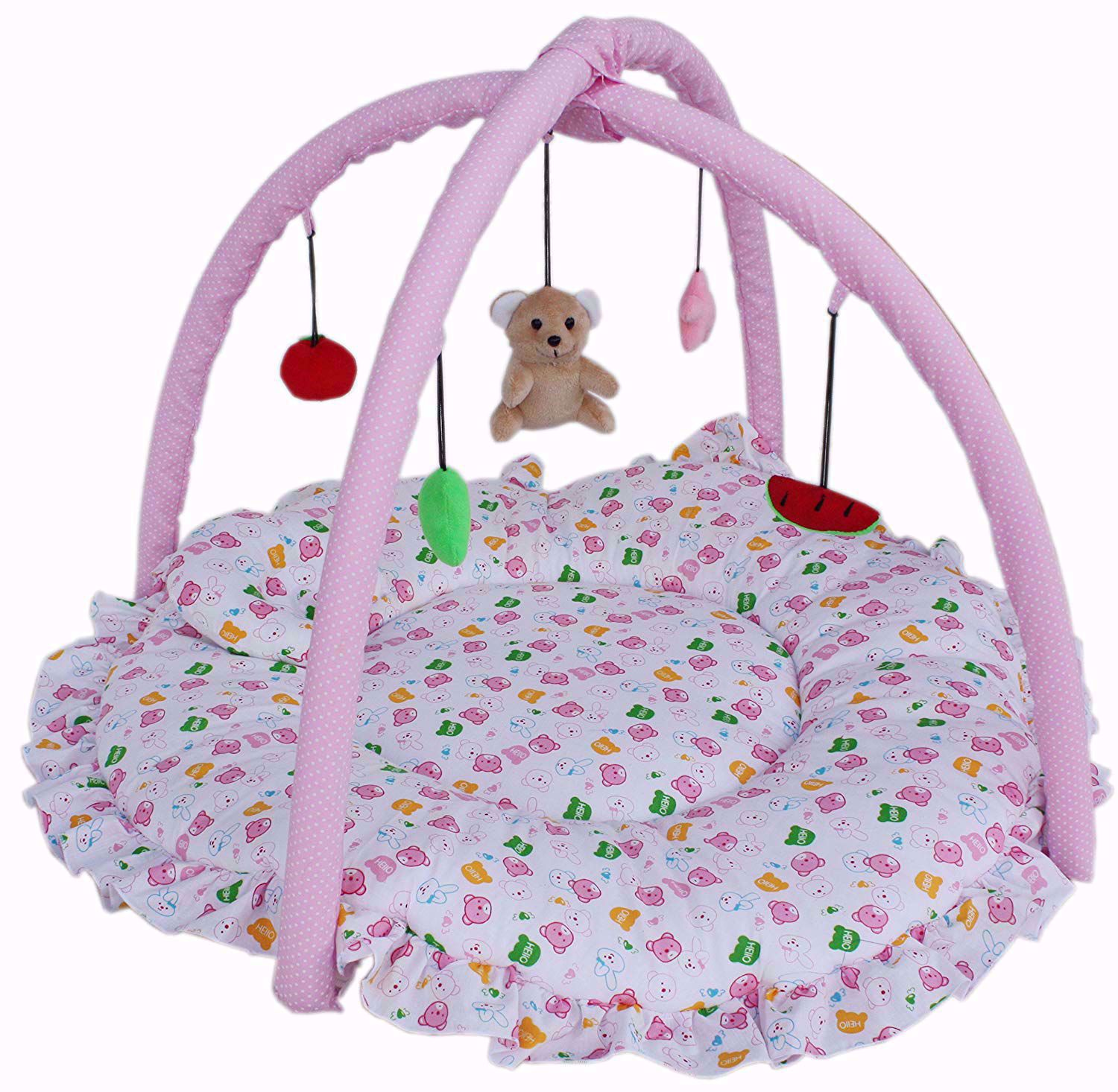 Baby Play Gym Round Pink