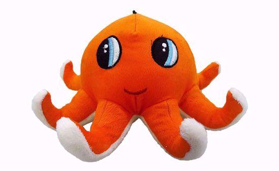 Picture of octopus-23cm orange