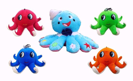 Picture of octopus family 51 cm and