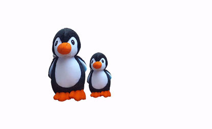 Picture of Penguin black 18cm, 40 cm