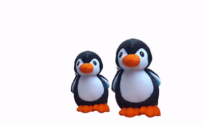 Picture of penguin 18cm 30cm black.