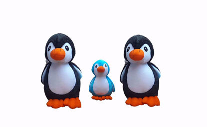 Picture of Penguin 40cm Black, 30cm Black And 18cm Blue