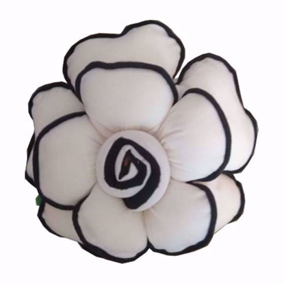 Picture of Flower-Pillow-White