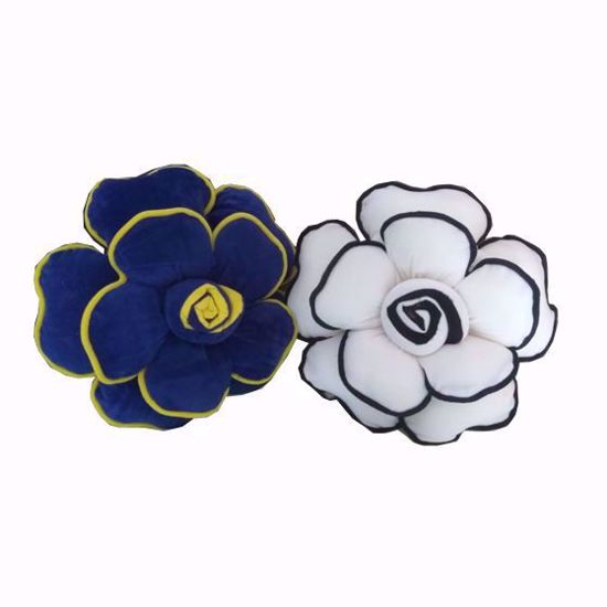 Picture of flower pillow set of( 2)