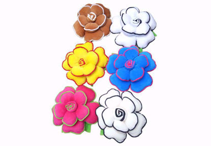 Picture of flower pillow set -6