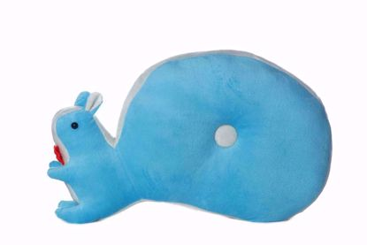 Picture of Squirrel  Pillow- blue