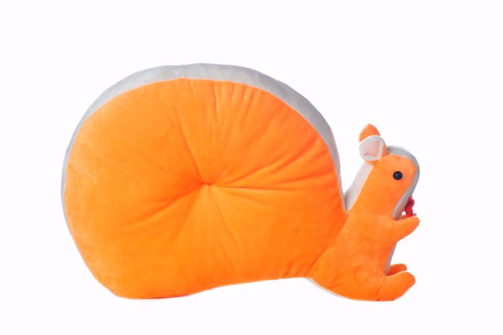 Picture of Squirrel  Pillow- orange