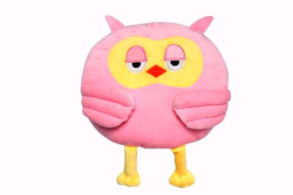Picture of Owl Shape Pillow - l-pink
