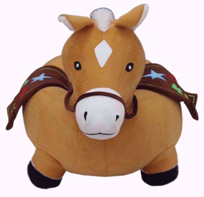 Picture of Kids Horse Sofa Brown