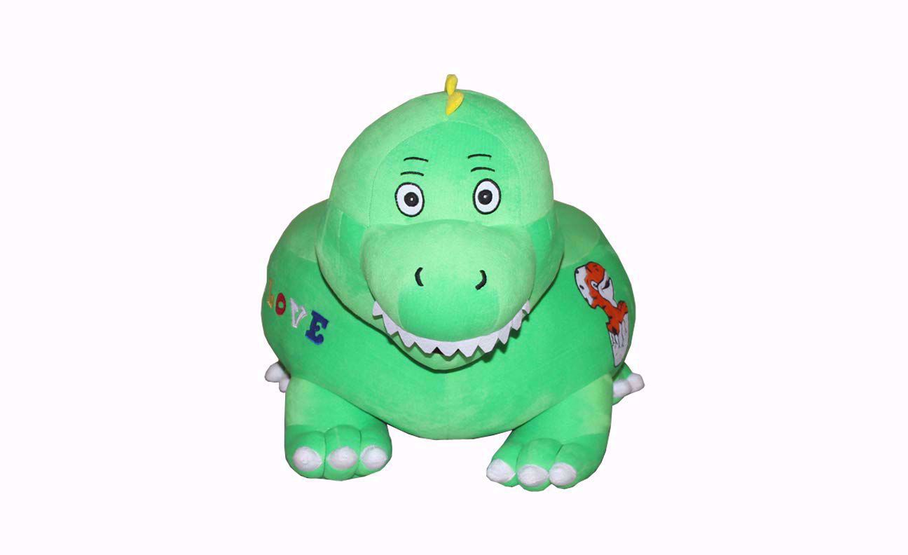 Baby Sofa Dinosaur Green