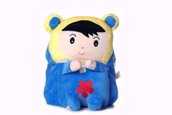 Puffy Bag Blue