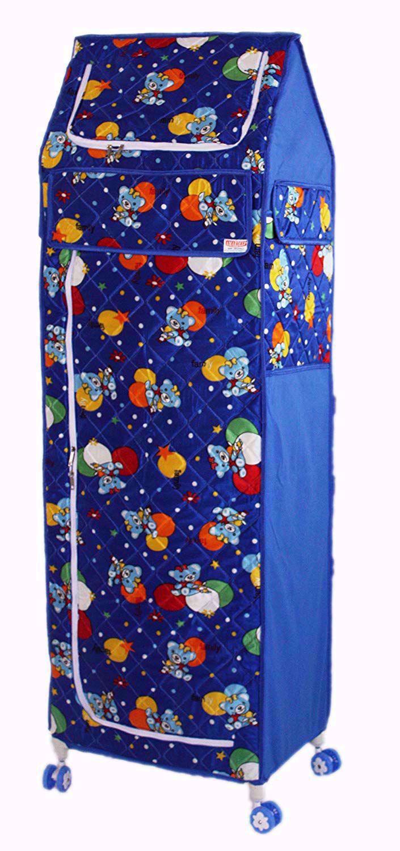 Baby Toy Box Bear Blue 6 Tray