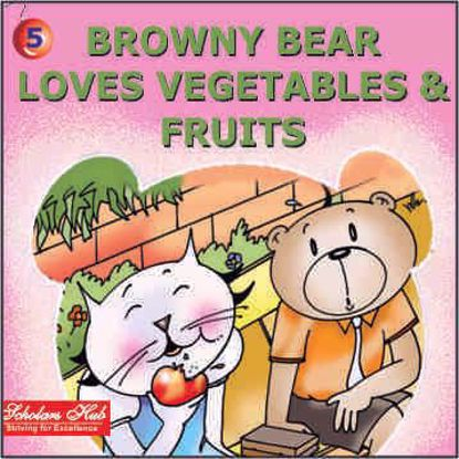 Browny Bear Loves Vegetables