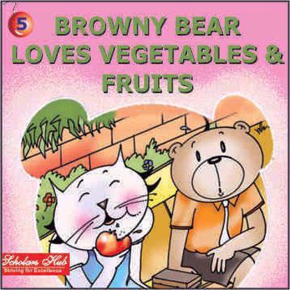 Browny Bear Loves Vegetables